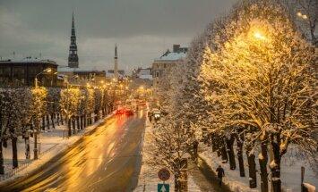The Weather Company: в странах Балтии будет зима будет теплой и сырой