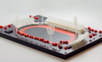 """ФОТО: Разработан первый макет обновления стадиона """"Даугава"""""""