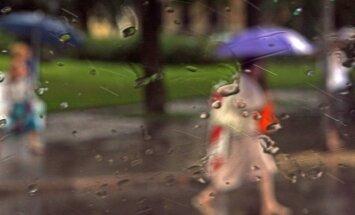 Ceturtdien daudzviet gaidāms īslaicīgs lietus