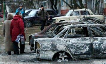 Teroristi nesekmīgi centušies virzīties arī uz Donbasa ziemeļrietumiem