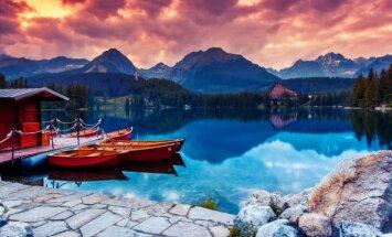 Septiņas neparastākās dabas ainavas
