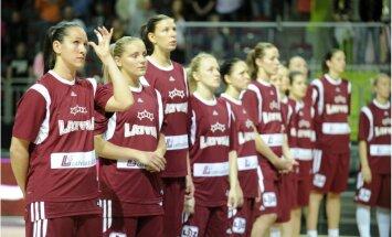 Latvijas sieviešu izlase EČ kvalifikācijas mačā pret Grieķiju spēlēs ar sastāvu, kas uzvarēja Itāliju