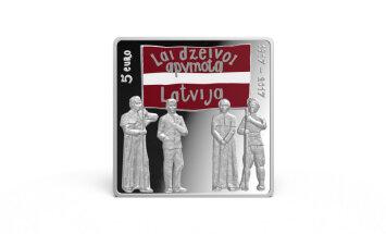 Latvijas Bankas kasēs Rīgā 'Latgales kongresam' veltītās kolekcijas monētas ir izpirktas