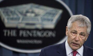 No amata atkāpsies ASV aizsardzības ministrs Čaks Heigels
