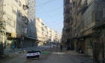Damaskā pastiprinās nemiernieku un valdības spēku cīņas