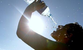 В Бауске, Салдусе и Стенде побит рекорд жары для 20 июля