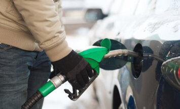 В Риге вновь выросли цены на топливо