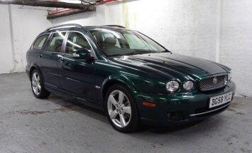 Britu karalienes 'Jaguar X-Type' par 19 tūkstošiem eiro