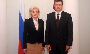 Krievijas vicepremjere: Latvija un Krievija var viena otru bagātināt kultūras jomā