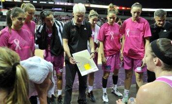 Latvijas izlases basketbolistes pārbaudes mačā sagrauj arī spēcīgo Ķīnu