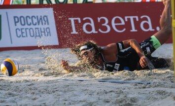 Самойлов и Шмединьш упустили пять матч-болов и остались за чертой призеров
