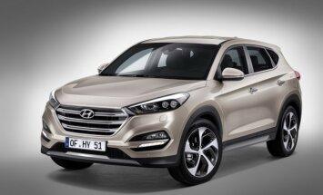 'Hyundai' oficiāli atklājis jauno 'Tucson' apvidnieku
