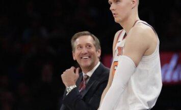 Porziņģis varētu atgriezties laukumā; 'Knicks' vismaz uz septiņām spēlēm pazaudē Hārdaveju