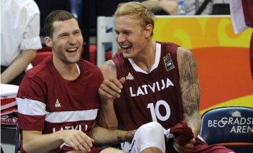 Strēlnieks un Timma priecīgi, ka 'Olympiacos' ļāva pievienoties izlasei