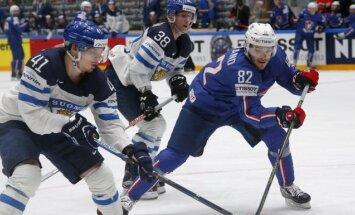 Veiksmīgs otrais periods Somijas izlasei ļauj pārspēt Franciju