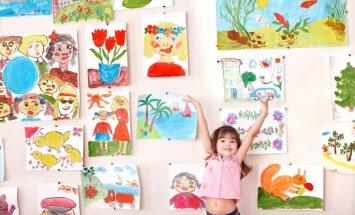 AKKA/LAA: par bērnu zīmējumu izmantošanu jāprasa atļauja vecākiem