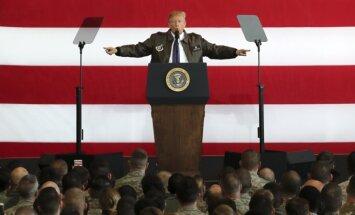 ASV prezidents Tramps sāk vizīti Āzijā
