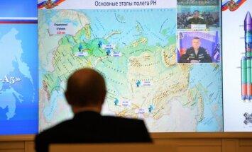 Krievijas propagandas kļūda - Putins pēta karti, kurā Krima nav Krievijā