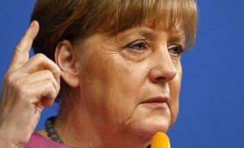 Трамп провел первые переговоры с Меркель