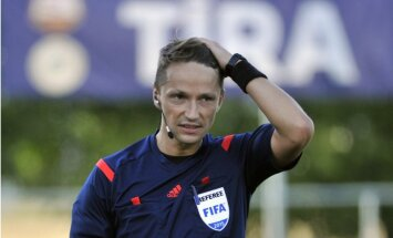 Treimaņa brigāde tiesās otrajā UEFA Čempionu līgas grupu turnīra spēlē pēc kārtas
