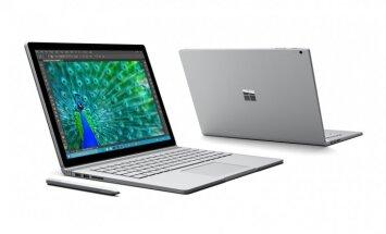 'Microsoft' radījis savu pirmo klēpjdatoru 'Surface Book'