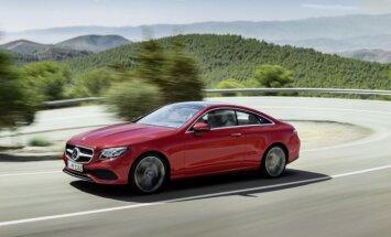 'Mercedes' jaunā E-klases kupeja maksās no 49 tūkstošiem eiro