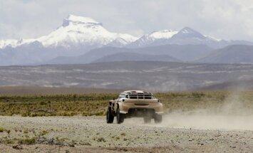 Peteransels izcīna uzvaru Dakaras rallijreida astotajā posmā