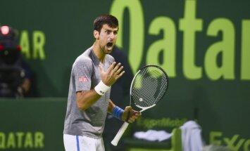 Novak Djokovic Serbia Qatar Open 2017