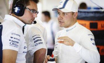 'Mercedes' F-1 komandas otrais pilots būs Botass