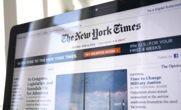 Ietekmīgs ASV laikraksts sajauc Baltiju ar Balkāniem
