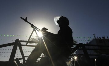 Gazā sabrūkot tunelim, dzīvību zaudējuši septiņi kaujinieki