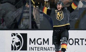 Lasvegasas 'Golden Knights' atkārto NHL pirmās sezonas uzvaru rekordu