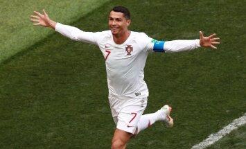 Рикошет помог Испании обыграть Иран, а Роналду 85-м голом обновил рекорд Пушкаша