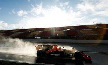 'McLaren' F-1 komandas vadība nav apmierināta ar pirmo testu rezultātiem