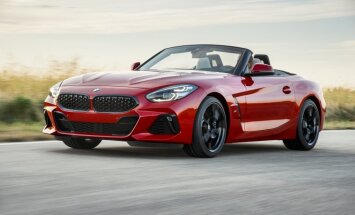 BMW prezentējis kopā ar 'Toyota' izstrādāto jauno 'Z4' rodsteru