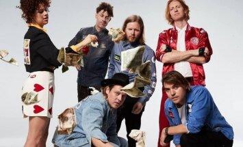 'Arcade Fire' šovasar uzstāsies Mežaparkā