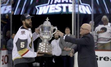 Video: NHL jaunpienācēja 'Golden Knights' netic lāstiem un māņticībai