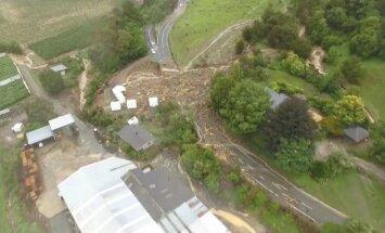 Ciklona 'Gita' 'aste' skar Jaunzēlandi, nošķirot no ārpasaules 1000 tūristu