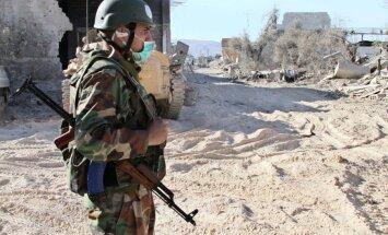 Sīrijas konflikts: Damaska iesniedz datus par ķīmiskajiem ieročiem