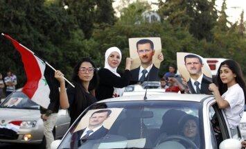Sīrija nodos ķīmiskos ieročus starptautiskā kontrolē, sola Asads