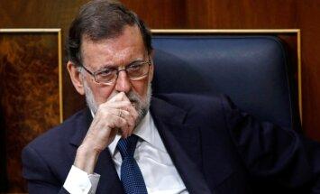 Katalonijas neatkarības centieni ir 'autoritāri maldi', paziņo Rahojs