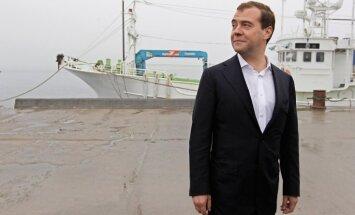 Medvedevs gandarīts par Obamas uzvaru