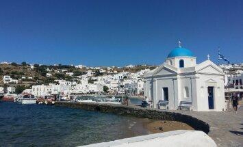 Ceļojuma stāsts: Mītiskās Kiklādu salas Grieķijā – Mikona, Dēla, Naksa un Santorini