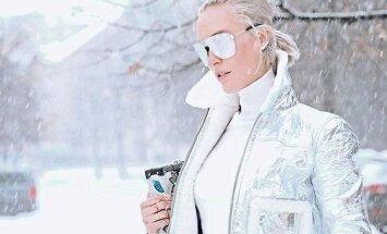 ФОТО. Как стильно одеться зимой: десять образов модной Тети Моти