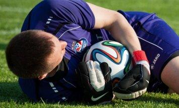 'Skonto' futbolisti virslīgas mačā pārliecinoši pārspēj 'Jūrmalu'