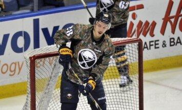 Girgensons joprojām saglabā pārliecinošu līderpozīciju NHL Visu zvaigžņu spēles balsojumā