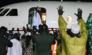 Gambijas eksprezidents nozadzis 50 miljonus dolāru