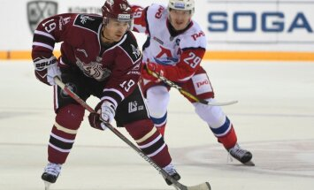 Rīgas 'Dinamo' Tālo Austrumu izbraukumu sāk ar zaudējumu Jaroslavļas 'Lokomotiv'