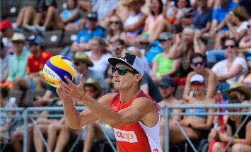 Samoilovs/Pļaviņš nepārvar pirmo kārtu neordinārās pludmales volejbola sacensībās Beļģijā