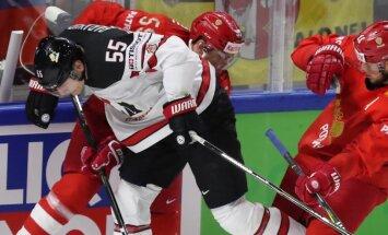 Pasaules hokeja čempionāta 1/4 fināls: Kanāda – Krievija un ASV - Čehija. Teksta tiešraides arhīvs